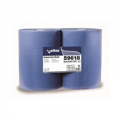 ROLLO CELULOSA SUPERBLUE 3C. 500 SERV (2 UDS)